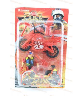 Promosyon oyuncak itfaiye seti en ucuz motosiklet figür
