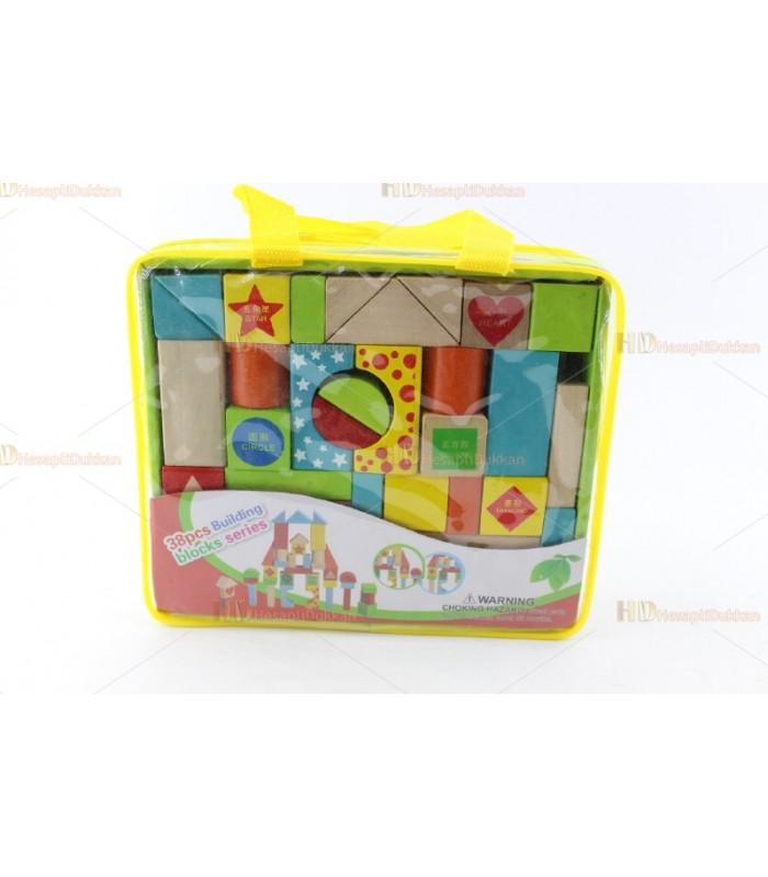 Promosyon oyuncak blok set çantalı