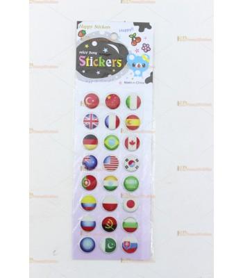 Promosyon oyuncak toptan sticker SM1725