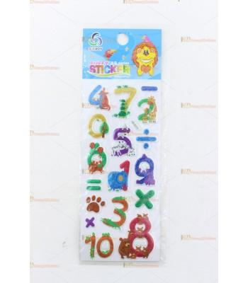 Promosyon oyuncak toptan sticker SM1748