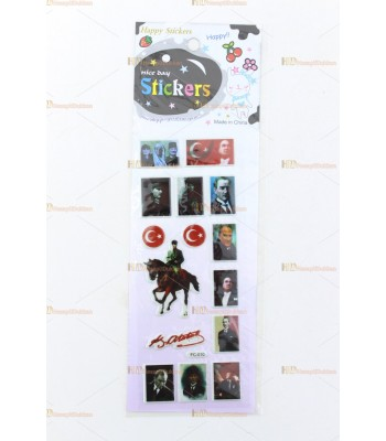 Promosyon oyuncak toptan sticker SM1750
