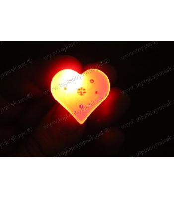 Kalpli ışıklı rozet promosyon toptan
