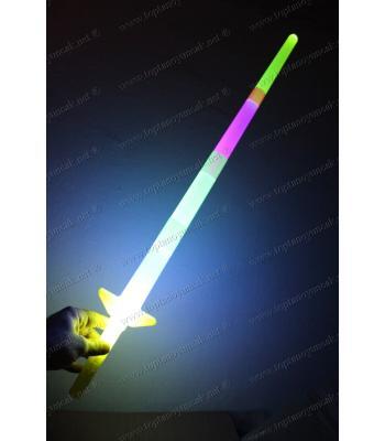 Promosyon ışıklı çubuk kılıç ucuz fiyat baskı logo