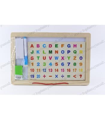 Promosyon oyuncak yazı tahtası seti üçü bir arada