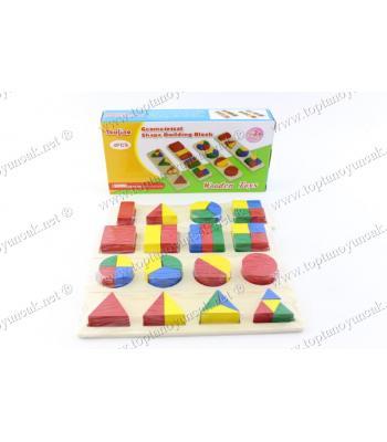 Promosyon oyuncak 3 lü şekilli puzzle set kutulu