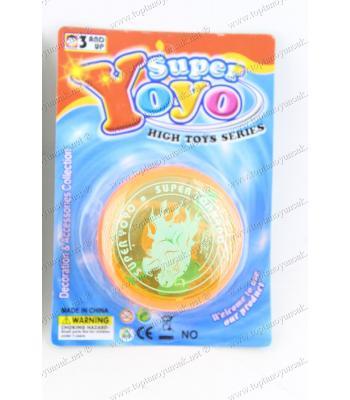 Promosyon oyuncak ışıklı yoyo kartlı