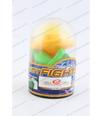Promosyon oyuncak ikili ışıklı topaç şık paket