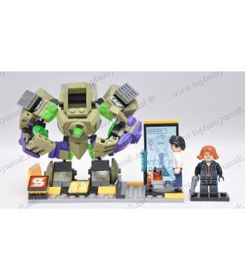 Promosyon oyuncak lego 234 parça hulk robot eğitici oyuncak