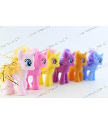 Promosyon oyuncak pony at mini boy şirin kutulu paketli ürün