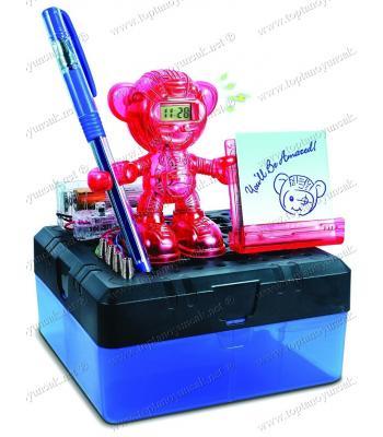 Promosyon oyuncak saatli alarmlı robot kendin yap