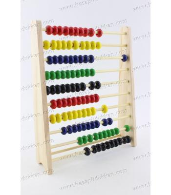 Promosyon oyuncak abaküs ucuz ahşap eğitici imalat tahtakale