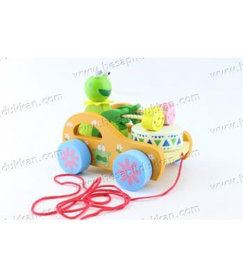 Promosyon oyuncak ahşap eğitici çekçek eğlenceli ucuz fiyat