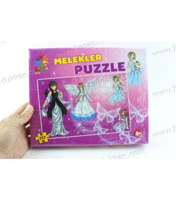 Promosyon oyuncak puzzle karton yapboz melekler