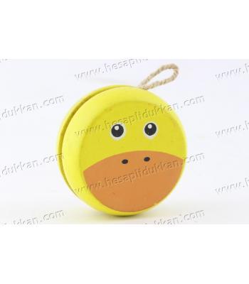 Promosyon oyuncak yoyo ahşap toptan fiyat ucuz ördek