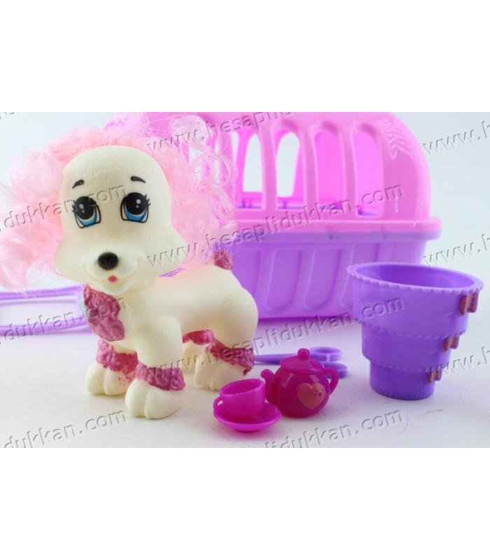 Promosyon oyuncak ucuz plastik pet taşıma kafesi köpek aksesuar