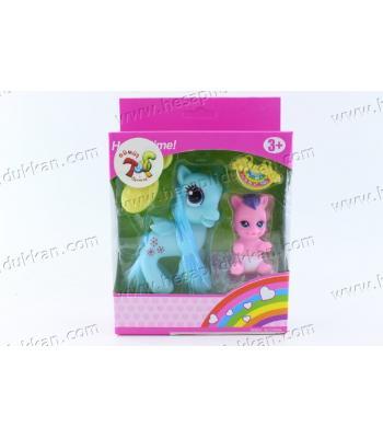 Promosyon oyuncak pony at bebekli kutulu ucuz fiyat