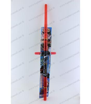 Promosyon oyuncak toptan iki başlı çift taraflı star wars ışın kılıcı
