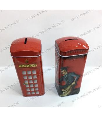 Toptan hediyelik eşya telefon kulübesi kumbara
