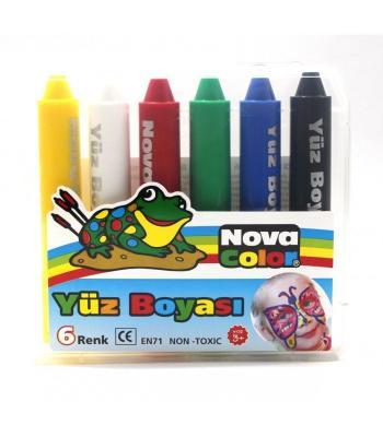 Nova Color Çocuk Yüz boyası 6 Renk Fiyat