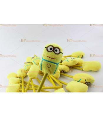 Doğum günü oyuncak peluş minyon figürlü kalemler