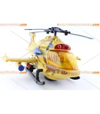 Işıklı pilli hareketli sesli savaş helikopteri harika oyuncak