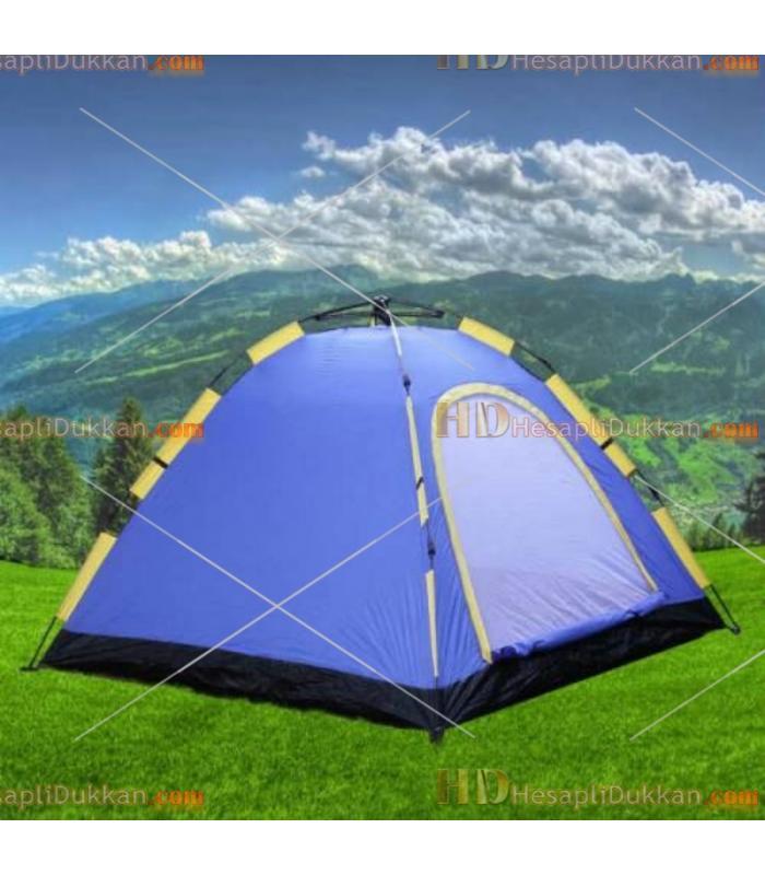 3 Kişilik otomatik açılan kamp çadırı