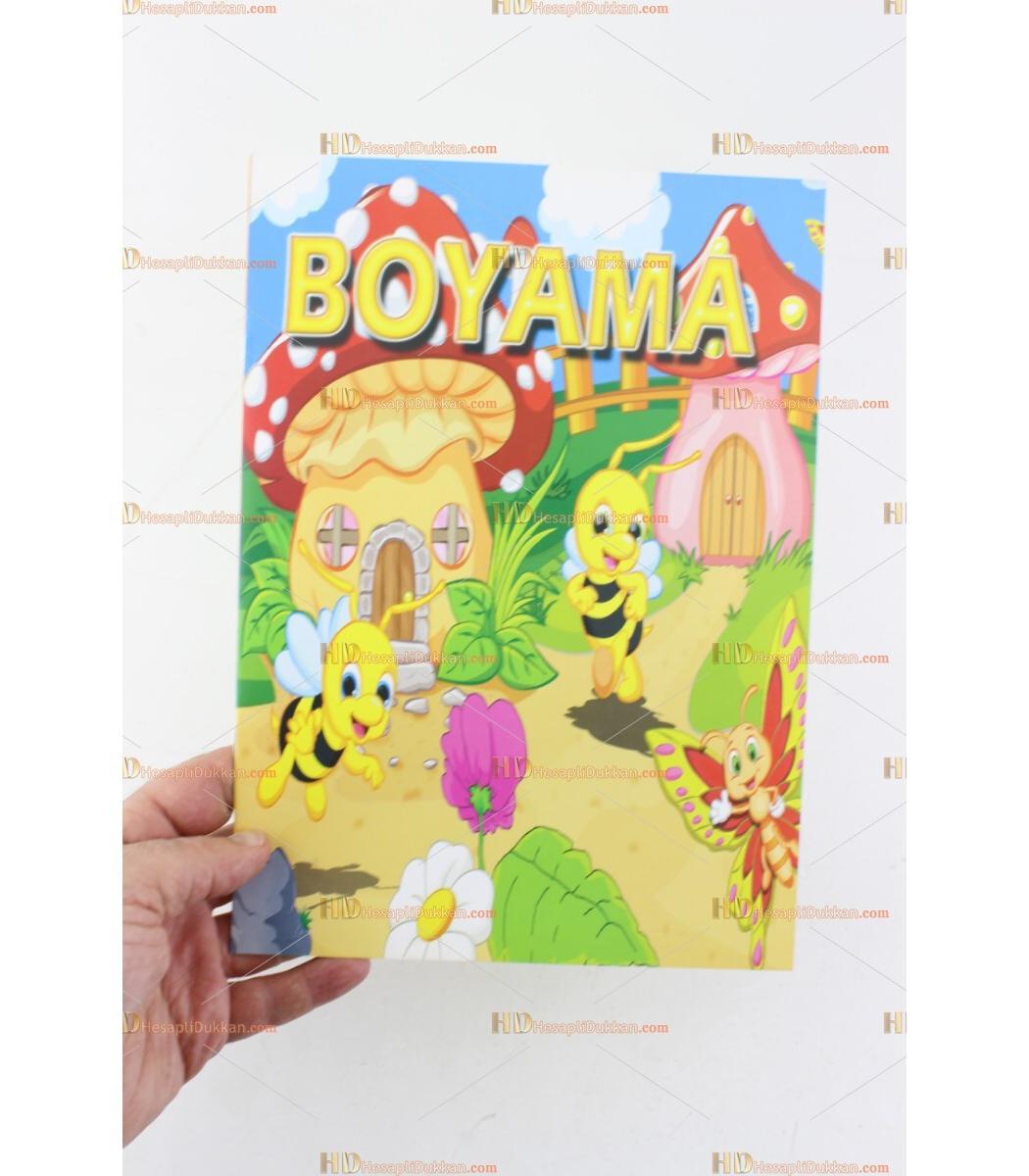 Toptan Promosyon Ucuz Boyama Kitabi 10 Sayfa