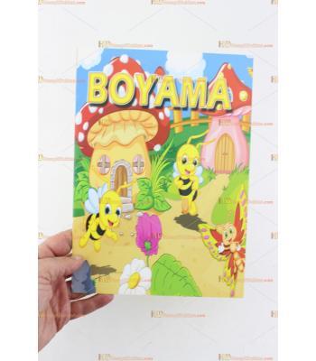 Toptan promosyon ucuz boyama kitabı 10 sayfa