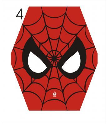 Toptan uçurtma çıtalı örümcek maske