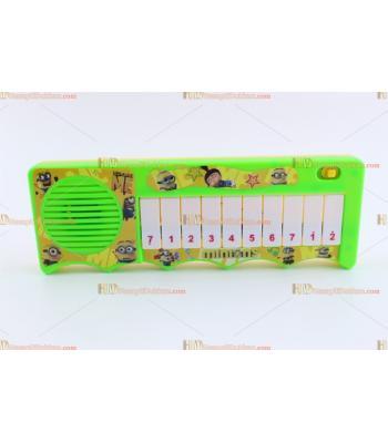 Toptan oyuncak mini piyano minyonlar figürlü