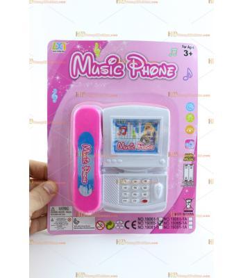 Toptan ucuz oyuncak telefon pembe