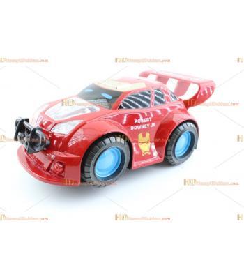 Toptan oyuncak pilli ışıklı araba kahramanlar