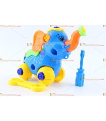 Toptan eğitici oyuncak sök tak fil