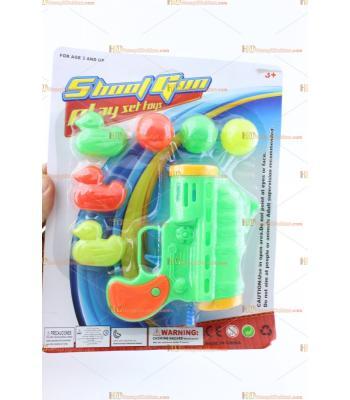 Toptan oyuncak top atan hedefli tabanca