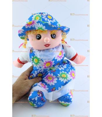 Toptan oyuncak bez bebek büyük boy sesli