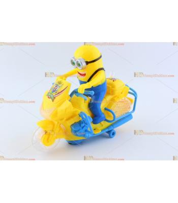 Toptan ışıklı oyuncak motosiklet minyon minion