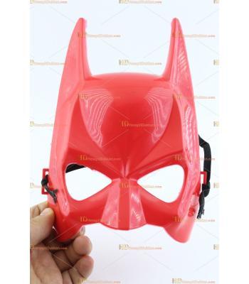 Toptan batman maske kırmızı