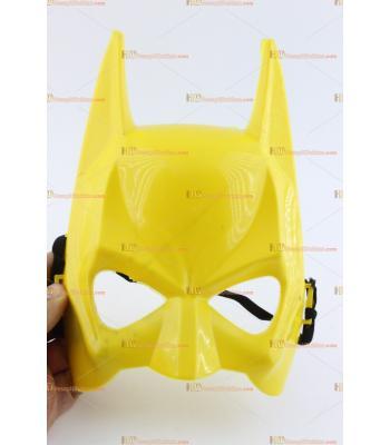 Toptan batman maske sarı