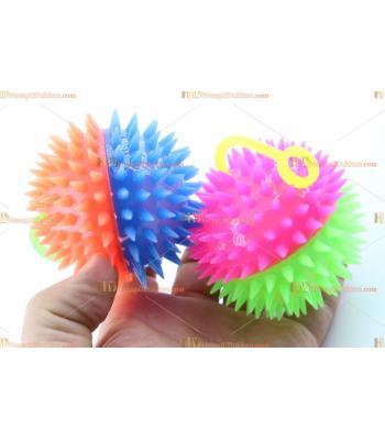 Toptan ışıklı oyuncak kirpi top saplı