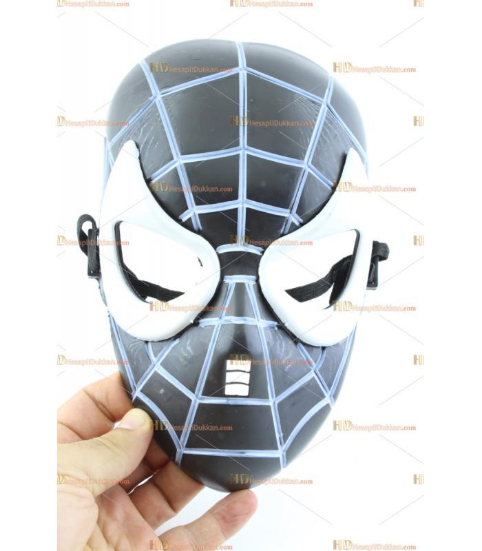 Toptan örümcek maske siyah