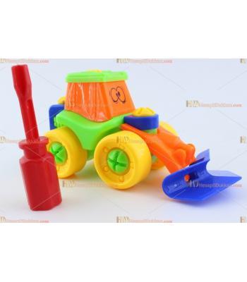Toptan eğitici oyuncak sök tak kepçe