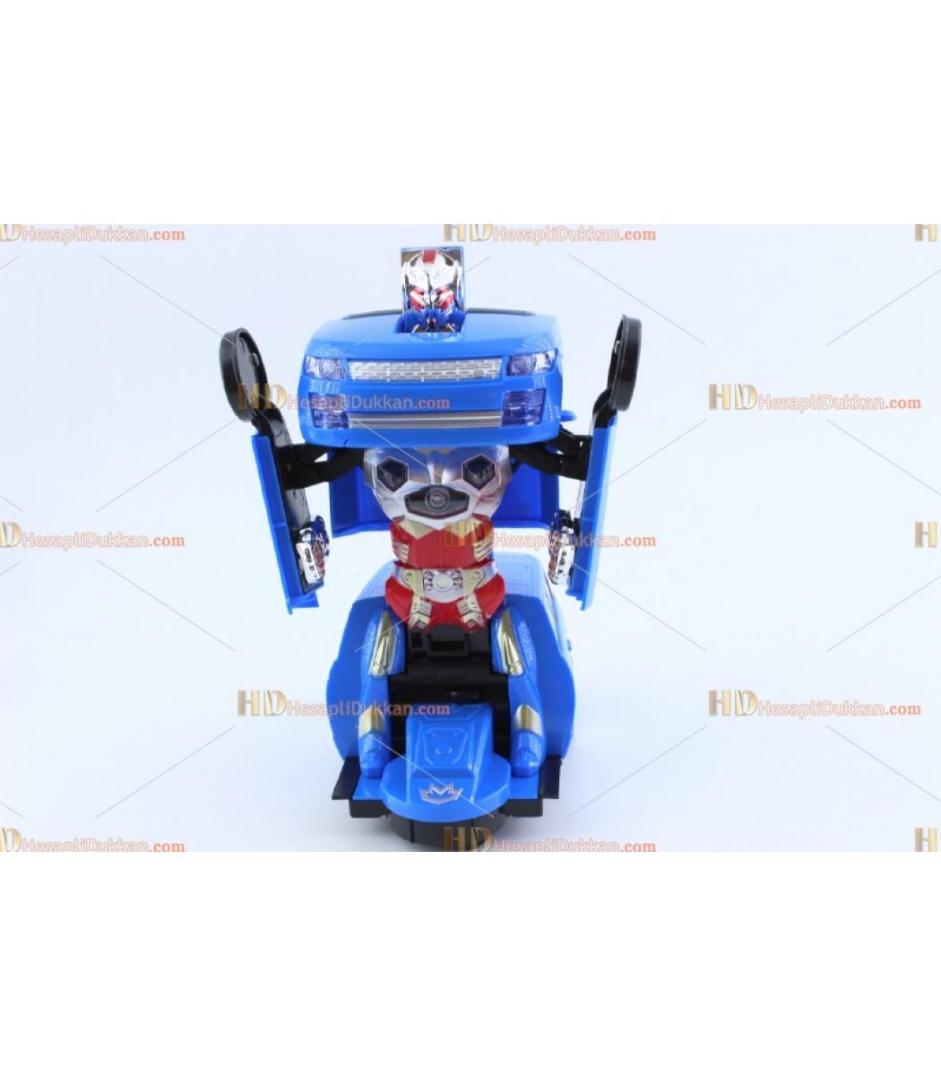 Araba Olan Polis Robot Dönüşen Oto Robot Araçlar 126