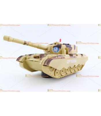 Toptan ışıklı oyuncak tank TOY6735
