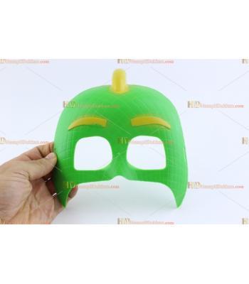 Toptan pijamaske pjmask maske yeşil