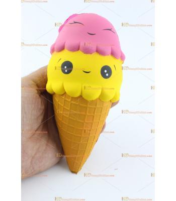Toptan squishy dondurma şeklinde