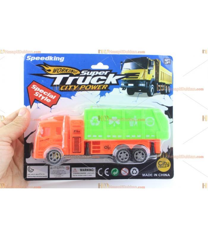 Toptan oyuncak çöp kamyonu TOY6792