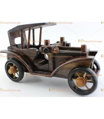 Toptan ahşap klasik araba otantik hediyelik eşya