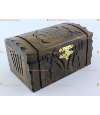 Toptan ahşap hediyelik eşya mini kapaklı kutu sandık