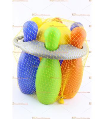 Toptan promosyon oyuncak bowling plastik set