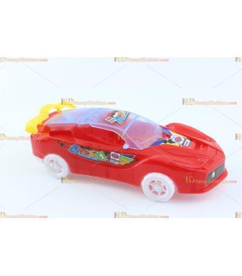 Toptan promosyon ışıklı oyuncak araba ipli